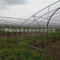 贵州铜仁批发热镀锌钢管 冷棚钢架规格4分 6分1寸