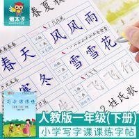 猫太子儿童练字帖 一年级下册同步生字 小学生凹槽字帖楷书批发