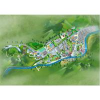 Q版卡通杭州手绘旅游攻略地图|插画|商业插画|手绘漫画|