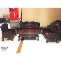 红木家具实木沙发组合中式古典雕花客厅整装红木家具花梨木沙发