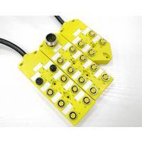 科迎法传感器多接口M12/M8中央集线器PNP/NPN