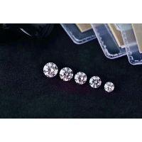 设计师款18K培育钻石项链镶嵌VVS级培育钻石白色裸钻