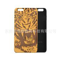 现货批发速卖通实木+pc边手机保护套苹果 iPhone 6 手机壳厂家