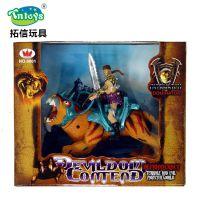 *厂家直销魔兽世界玩具塑胶公仔模型玩具