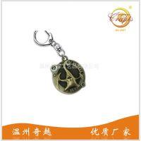 动漫浮雕礼品钥匙扣挂件 寄生兽电镀浮雕纪念礼品钥匙扣配饰