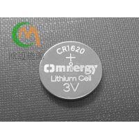 高品质CR1620电池3V纽扣电池