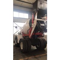 众合盛鲁东4.0方自动加料混合土搅拌车 多功用泥浆运输车
