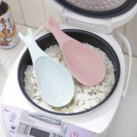 小麦秸秆海豚饭勺电饭煲专用 不粘饭铲子盛饭勺子米饭勺麦香勺