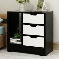 床头柜简约现代组装简易迷你家具客厅收纳小柜子经济型卧室储物柜