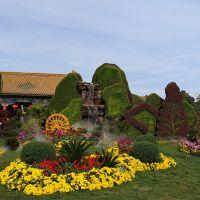 绿雕仿真动物 可定制绿植雕塑 大型动物商场装饰园林景观景区装饰摆件