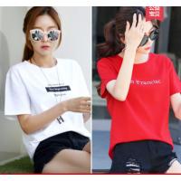贵阳便宜女装短袖T恤韩版时尚女士半袖纯棉T恤小衫清货3-5元以下