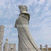 10米高妈祖天后石雕像 仿莆田妈祖道场原像 采用福建花岗岩雕刻