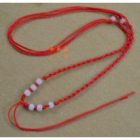 玉珠项链绳 8珠项链绳 2元店饰品配件