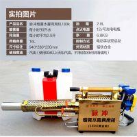 不锈钢钛合金烟雾机/长管手电双启动弥雾机价格/农用背负式脉冲喷雾机