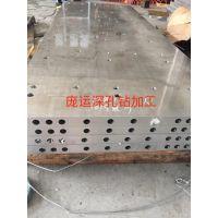 铝板钻深孔 铝板深孔加工 铝板打深孔 上海铝板深孔加工厂