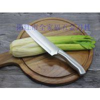 阳江礼品刀具特价钢柄厨师刀