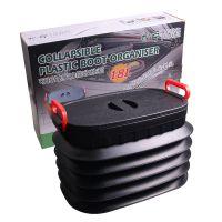 汽车用品 邦宁18L折叠伸缩置物箱 收纳折叠垃圾桶 中文彩盒