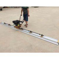 东硕机械大功率汽油振动尺 混凝土地面刮平尺 手扶刮板整平机
