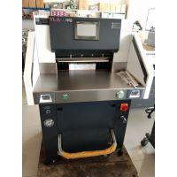 液压切纸机 印后5208C液压切纸机 触摸屏 切8公分厚 超静音