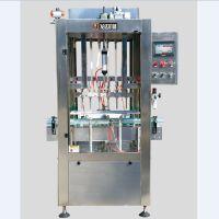 发达包装厂家直供全自动定量直线式油类饮料类液体灌装机