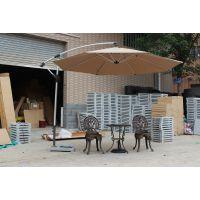 供应铝架香蕉伞、铝合金庭院伞、铝架户外遮阳伞