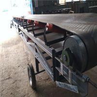 枣庄皮带输送机 包胶滚筒槽型托辊运输机
