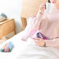 【保质量】SAFEBET印花暖手宝迷你随身灌水热水袋 女孩系列