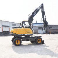 点击咨询北京农用轮式挖掘机 胶轮挖掘机价格金鼎立
