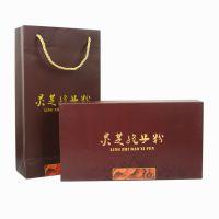 新款灵芝孢子粉6支管礼品盒子礼盒包装盒灵芝孢子粉包装纸盒包装