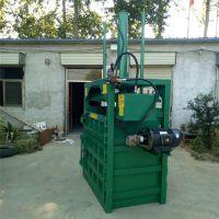 不锈钢打棉花包机 垃圾废品站液压打包机 普航油漆桶压扁机价格