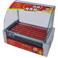 HD-10型10管自动双控温烤香肠机HX-10 10管烤肠机/烤热狗机哪家强