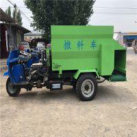 山东省庞泰机械公司 柴油三轮饲料撒料车