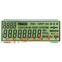 电子式三相四线程预付费电能表LCD液晶屏,IC卡充值电表LCD液晶屏