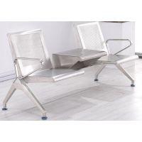 不锈钢排椅怎么安装-不锈钢排椅配件-带茶几的不锈钢排椅
