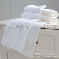 彩虹飞扬酒店宾馆客房纯棉加厚防滑吸水厂家直销批发棉垫吸水地巾