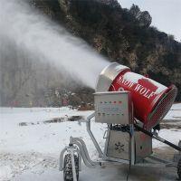 一台造雪机可造5千平场地 可移动式人工造雪机参数