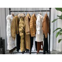 蔓诺蒂 2019冬装品牌折扣女装批发走份货源进货渠道 羽绒服