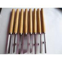 促销8PC套装木工雕刻刀 木柄 木雕刀 木刻刀 带工具袋