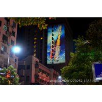 X1户外地面投影广告设备-建筑投影广告秀现场直播都市巨影科技