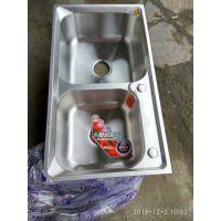 成都厨房水槽  洗菜盆 洗碗盆 不锈钢盆  厨房五金件 双单不锈钢