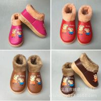 老北京棉鞋 冬季新款男女防滑加绒加厚保暖布鞋 江湖地摊热卖货源