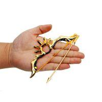 王者兵器兵器模型半神之弓精灵王弓箭挂件儿童金属玩具神梦一刀