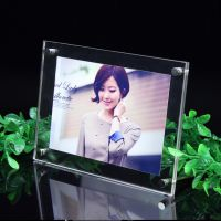 供应有机玻璃相框精美影楼相框相架 个性写真相框A4尺寸摆式相框