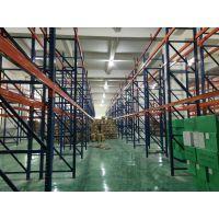 佛山货架定制-组合式立柱平台-钢结构货架-货架搭棚