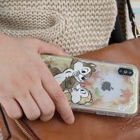 韩国正品迷你米奇透明硅胶苹果X小叮当卡通挂绳手机壳创意维尼熊