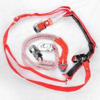 安全带  厂家直销电工安全二道保护绳 高空作业双保险安全带