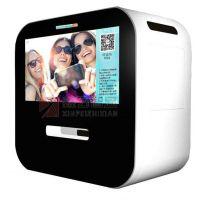 鑫飞智显微信打印机使用方法21.5寸标准手机照片打印播放广告可定制