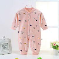 新生婴儿连体衣服4春秋季5三0女宝宝秋装3个月2男孩6两个月四个月