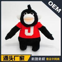 仿真穿衣黑猩猩狒狒猴子毛绒玩具公仔外贸出口厂家定制猩球归来
