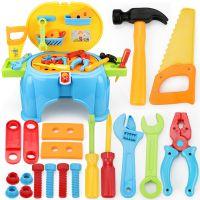 儿童仿真维修工具过家家益智认知玩具宝宝修理拆装工具箱组合套装
